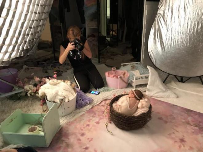 Prima ședință foto a fetiței lui Liviu Vârciu. Artistul e topit după Anastasia