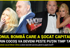 """BOMBA care a zguduit Bucurestiul! """"Dorin Cocos va deveni peste putin timp tata!"""" Iubita fostului sot al Elenei Udrea a tinut secreta sarcina pana la sapte luni!!!"""