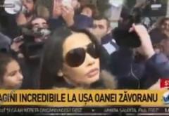 Oana Zăvoranu a creat isterie, când a ajuns între oameni: S-a lăsat cu pumni și sânge / VIDEO