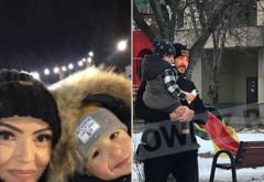 """Imaginile anului! Cristi Mitrea, alaturi de fiul lui! Prima reactie a Andreei Mantea, dupa ce au aparut fotografiile: """"Cristi este un... """""""