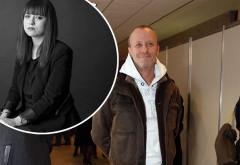 Primele imagini cu familia lui Andrei Gheorghe la IML!  Anastasia, fiica jurnalistului, împietrită de durere