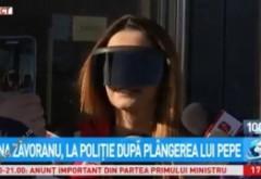 Imagini INCREDIBILE cu Oana Zăvoranu: Cum a ieșit de la Poliție, după ce a depus plângere împotriva lui Pepe căruia îi cere 500.000 de euro / VIDEO