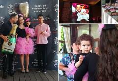 Avem primele imagini de la turta fetitei Cristinei Siscanu si a lui Madalin Ionescu! Mama si fiica sunt imbracate la fel!