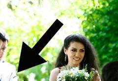 Da, s-a măritat azi!  Vei avea o mare surpriză când vei vedea cine e barbatul! Il stie toata Romania! Dragostea lor s-a derulat ca un secenariu de film