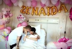Adelina Pestrițu a născut! Vezi aici primele imagini cu bebelusul