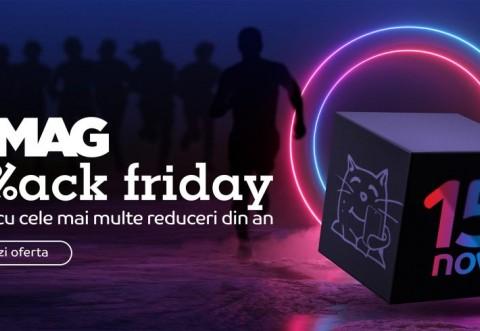 Black Friday 2019: eMag a dat lovitura! De cât a vândut în primele 30 de minute de campanie