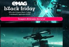 A inceput Black Friday la eMag! Reduceri de pana la 90%, stocurile dispar la secunda!