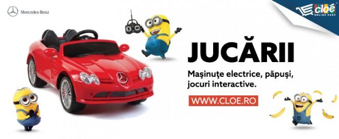 Cloe.ro: Jucăriile perfecte pentru copilul tău, la cele mai bune prețuri