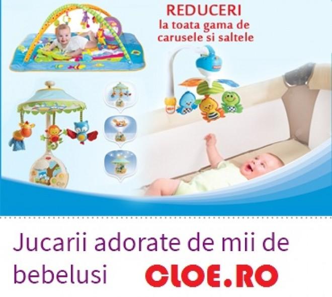 Carucioare pentru toamna, la OFERTA! Cloe.ro da startul PROMOTIILOR la articolele pentru copii