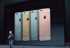 iPhone 6S și iPhone 6S Plus, lansate oficial: 3D touch este cea mai importantă funcționalitate