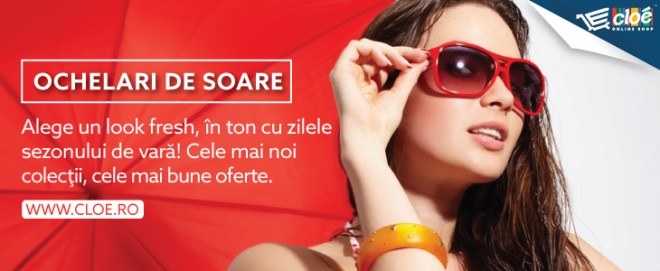 OFERTA BLACK FRIDAY de ceasuri si ochelari de soare pe Cloe.ro