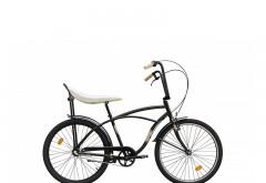 Bicicleta Pegas Strada 1 - 3 viteze, Verde Respect, anvelope negre