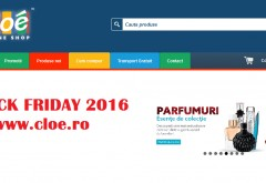 Black Friday 2016 la Cloe.ro. Magazinul anunta reduceri de pana la 90%!