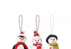 Set 3 decoratiuni de Craciun Snowies