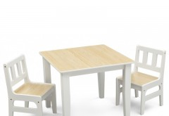Set masuta si 2 scaunele Natur
