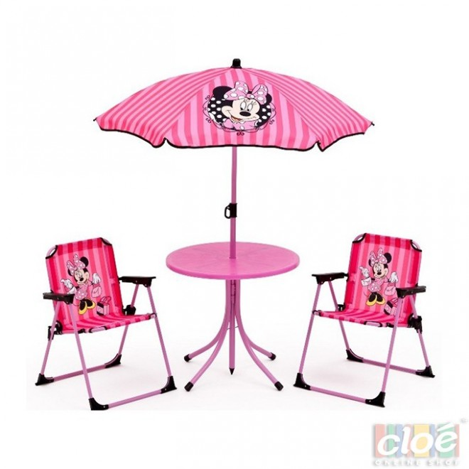Set camping 4 piese Disney Minnie Mouse