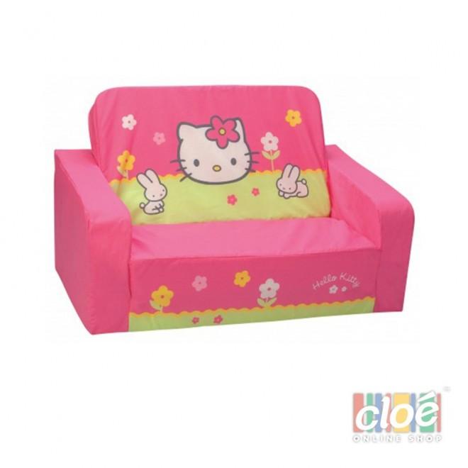 Canapea extensibila din burete Hello Kitty