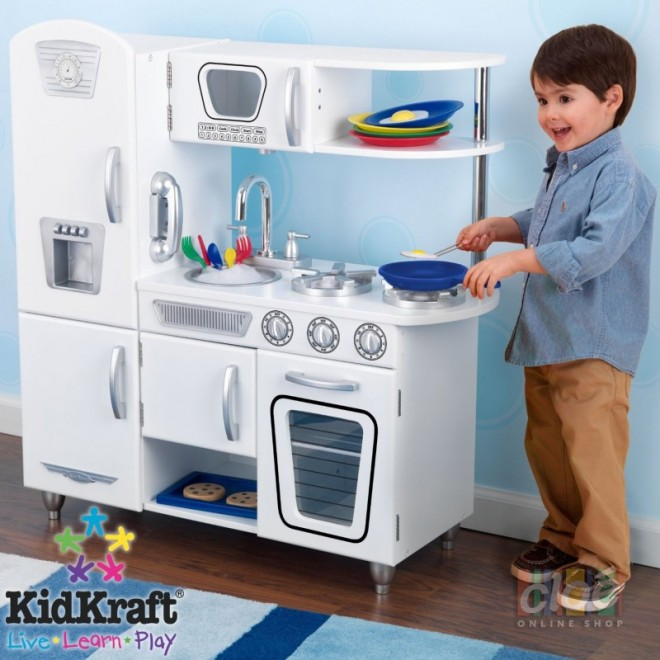 Bucatarie pentru copii White Vintage