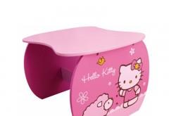 Masuta din lemn Hello Kitty