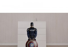 Comoda pentru copii cu sertare Captain America
