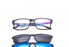 Rame ochelari de vedere si soare CLIP ON Ultem Beta Memory 80 col2 Polarized