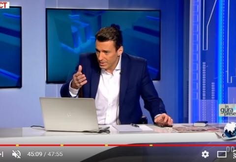 Mircea Badea: Va imaginati ce s-ar fi intamplat daca Vlad Cosma nu ii inregistra pe Onea si Portocala?