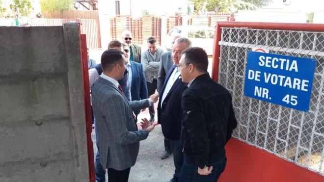 Echipa PSD a votat! Cristi Ganea si Bogdan Toader, printre primii la urne