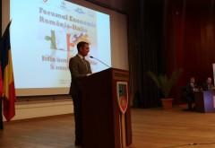 Discursul presedintelui CJ Prahova, Bogdan Toader, la Forumul economic Romania-Italia
