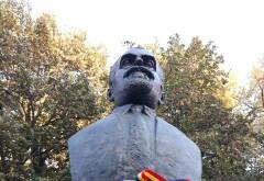 Bustul lui Pantelimon Halippa, inaugurat pe Aleea Unirii din Parcul Bucov. Oficiali italieni, prezenti la eveniment
