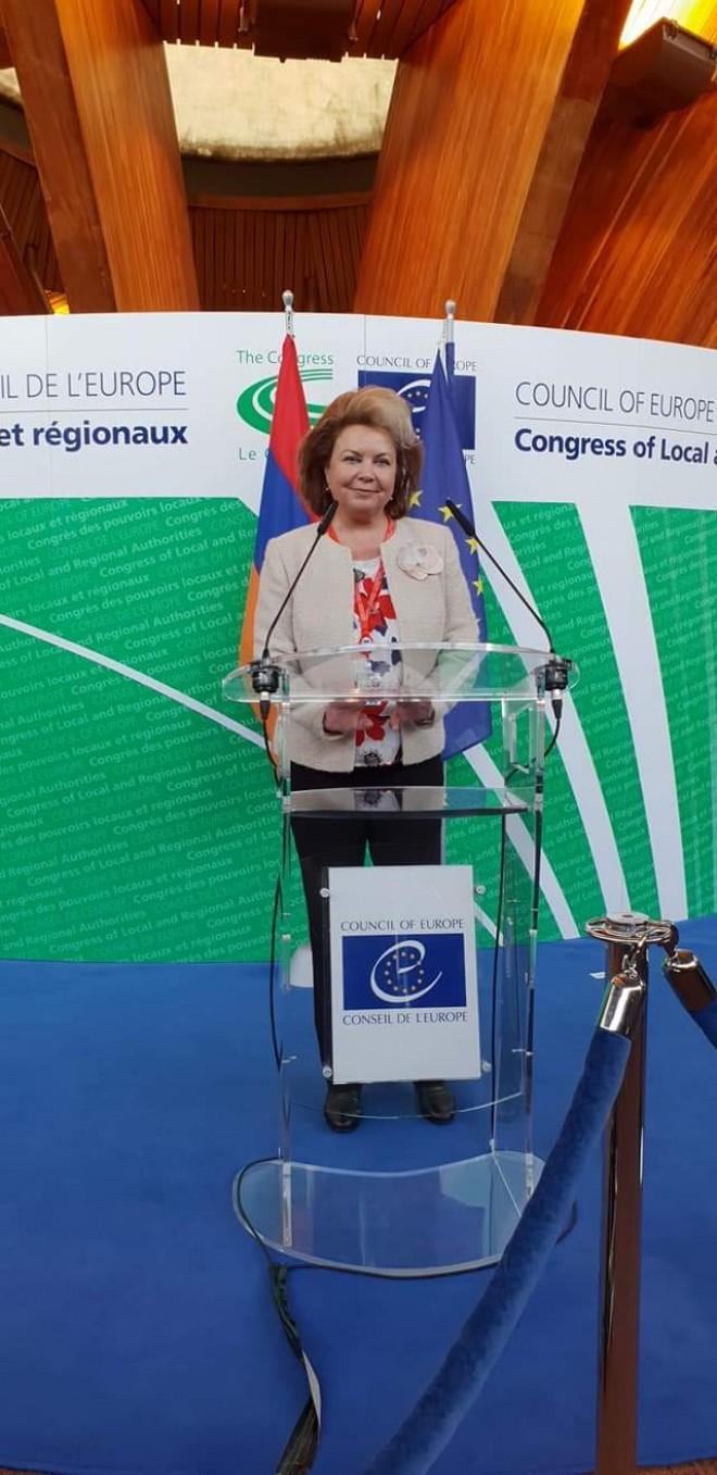 Ludmila Sfirloaga, realeasa vicepresedinte al Comisiei de Monitorizare a Congresului Puterilor Locale si Regionale din Consiliul Europei