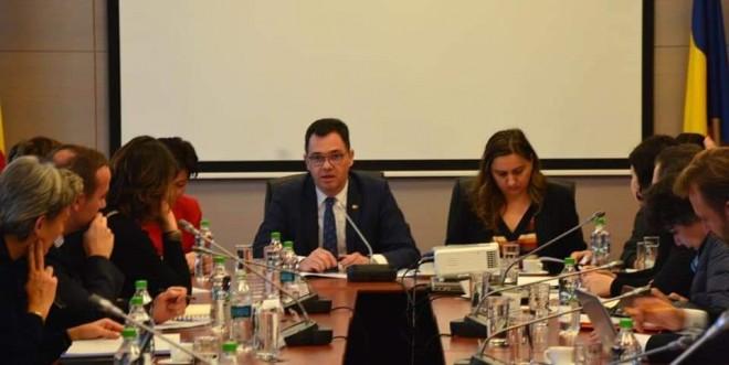 Ministrul Radu Oprea, gazda unei intalniri cu afaceristi francezi. Ce s-a discutat