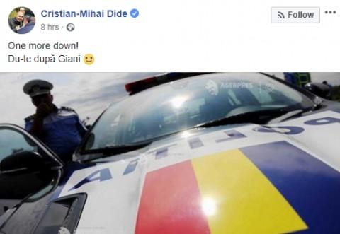 JEG uman! Gest incalificabil al protestatarului Mihai Dide la moartea jandarmeriței din Suceava