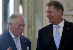 GAFELE lui Iohannis. Klaus a dat chix la întâlnirea cu Prinţul Charles