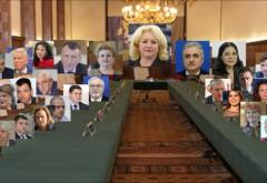 OFICIAL, lista celor 8 noi miniștri