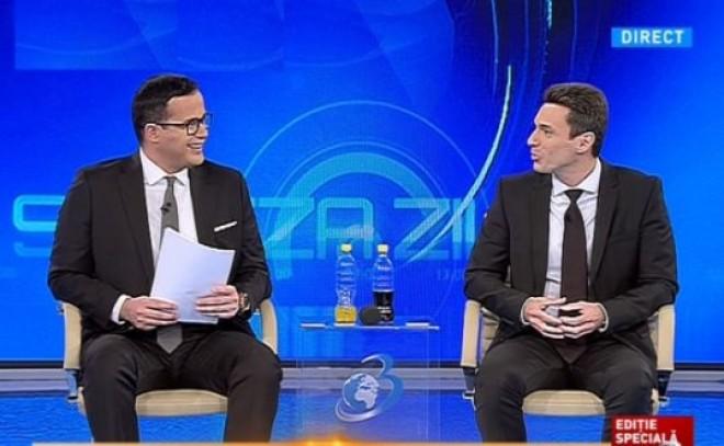 SONDAJ Mihai Gadea si Mircea Badea, cei mai iubiti oameni de televiziune