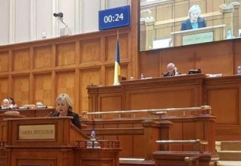"""Deputatul PSD Rodica Paraschiv, declaratie in Parlament: """"Două veacuri de învățământ tehnic superior să fie baza școlilor din viitor!"""""""