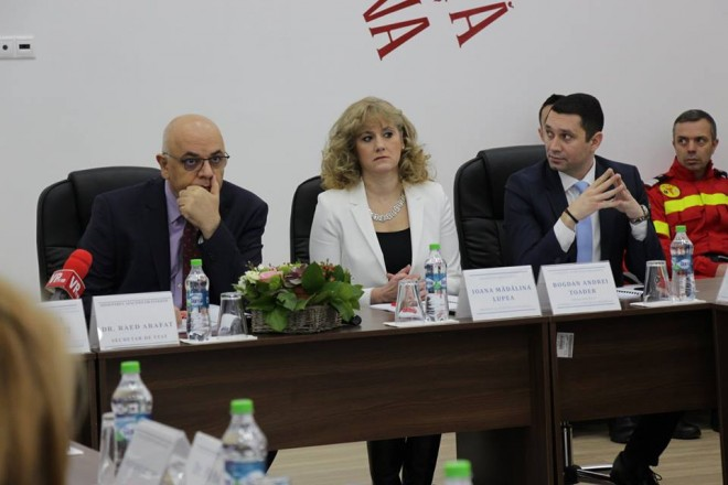 Raed Arafat a venit la Ploiesti, la evenimentul de prezentare al bilantului ISU Prahova