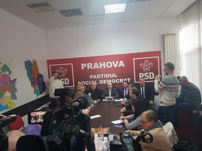 Codrin Stefanescu, la Ploiesti: Mergem inainte cu amnistia si gratierea