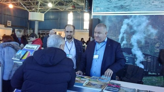 Viceprimarul Cristi Ganea a reprezentat Ploiestiul la Targul de Turism de la Chisinau