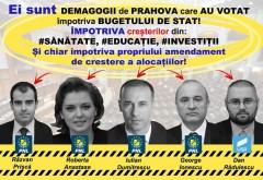 PSD Prahova ii arata cu degetul pe PNL-istii care au votat IMPOTRIVA bugetului