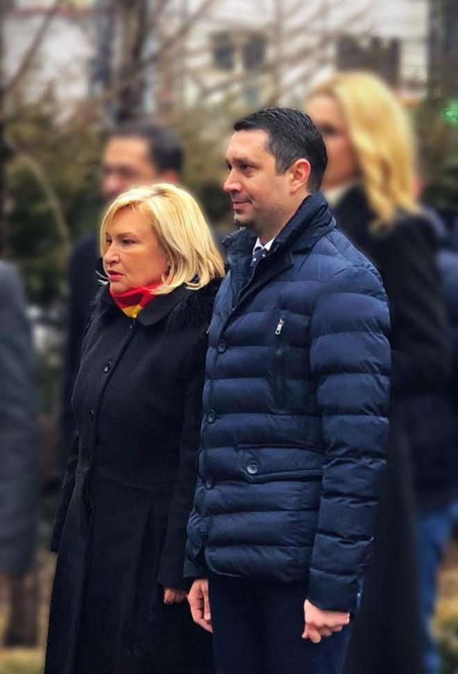 Bogdan Toader, despre Rodica Paraschiv: O femeie înzestrată cu multă putere de muncă și un veritabil lider!