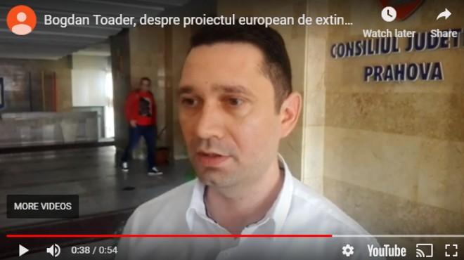 Bogdan Toader (CJ Prahova) anunta inceperea lucrarilor de extindere a UPU