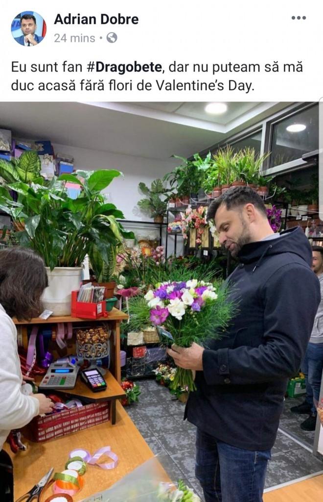 Halal primar! Adrian Dobre a uitat de Ziua Politiei Romane