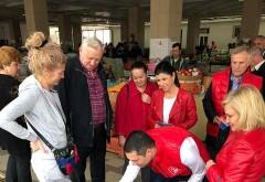 Bogdan Toader si deputatul PSD Rodica Paraschiv, in vizita electorala la Mizil si Ceptura