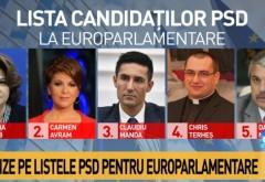 Tot ce trebuie să știi despre alegerile europarlamentare: Pe cine propune PSD pentru Parlamentul European?