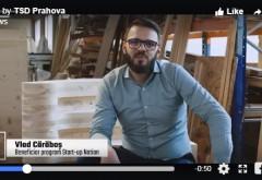 Tânăr arhitect și-a dezvoltat propria afacere prin programul #StartUpNation