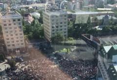 Miting urias pentru sustinerea PSD, la Iasi / GALERIE FOTO