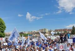 Miting ALDE/  Câteva mii de oameni, la marșul împotriva abuzurilor
