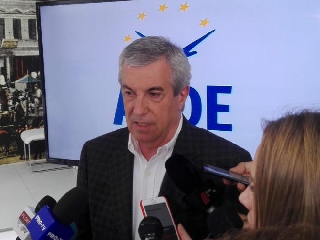 Tăriceanu, la Ploieşti: M-aş bucura să văd mai mult patriotism la cei care ar trebui să apere interesele României în Parlamentul European
