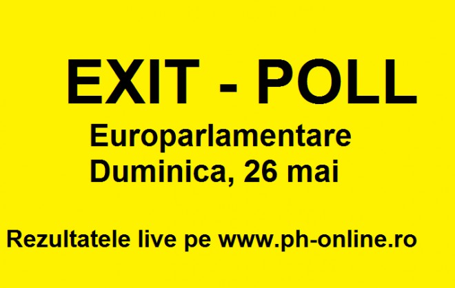Rezultate europarlamentare 2019. Rezultate alegeri, exit-poll. Rezultate partiale